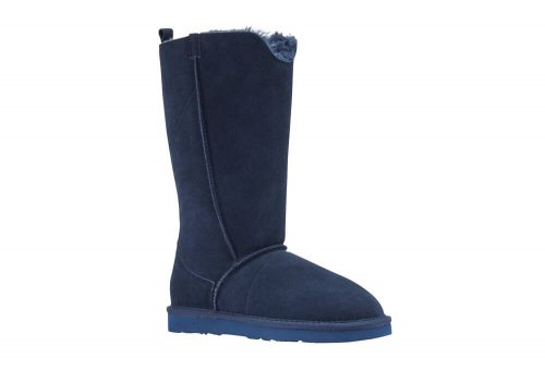 LAMO Bellona Tall Sheepskin Boots - Women's - navy, 10