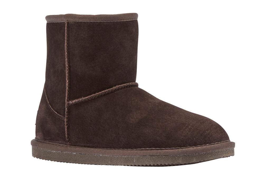 "LAMO Classic 6"" Suede Boots - Women's - chocolate, 8"