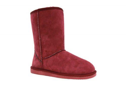 "LAMO Classic 9"" Suede Boots - Women's - burgundy, 10"