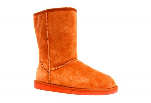"LAMO Classic 9"" Suede Boots - Women's - burnt orange, 9"