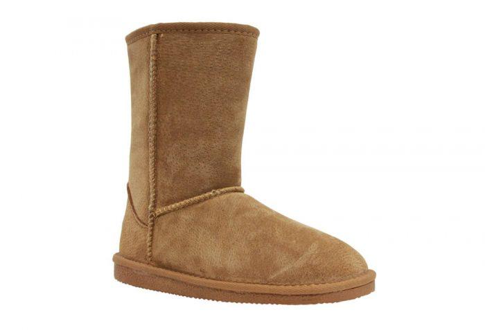 """LAMO Classic 9"""" Suede Boots - Women's - chestnut, 9"""