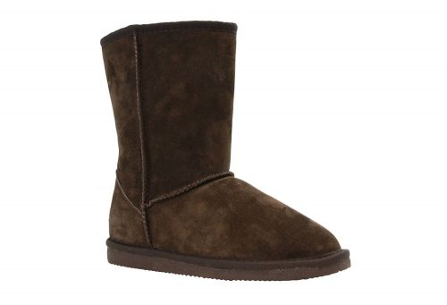"LAMO Suede 9"" Boot - Womens - chocolate, 7"