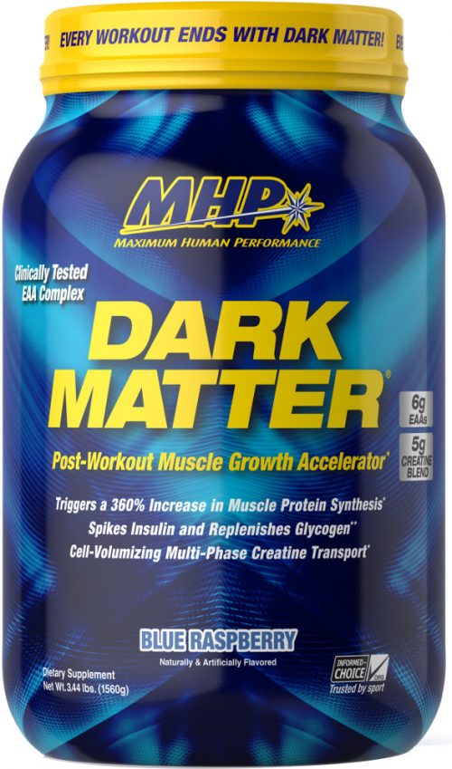 MHP Dark Matter - 20 Servings Blue Raspberry