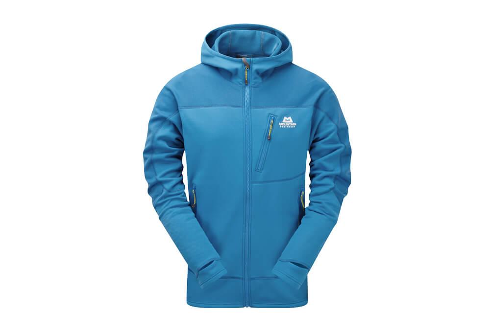 Mountain Equipment Croz Hooded Jacket - Men's - lagoon blue, medium