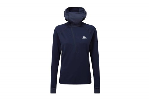 Mountain Equipment Eclipse Hooded Zip T - Women's - cosmos, 10