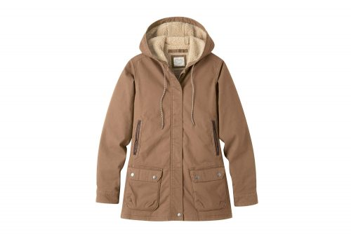 Mountain Khakis Ranch Shearling Hooded Coat - Women's - tobacco, small