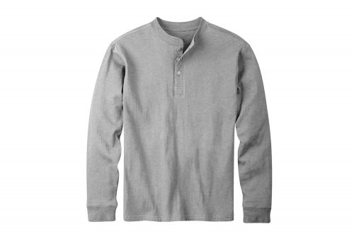 Mountain Khakis Trapper Henley Shirt - Men's - heather grey, medium