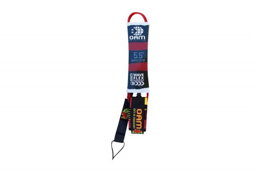 OAM Super Comp 5.5' Leash - red future, one size