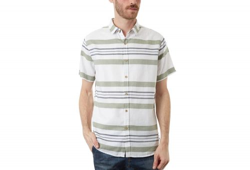 PX Canaan Short Sleeve Shirt - Men's - white, small