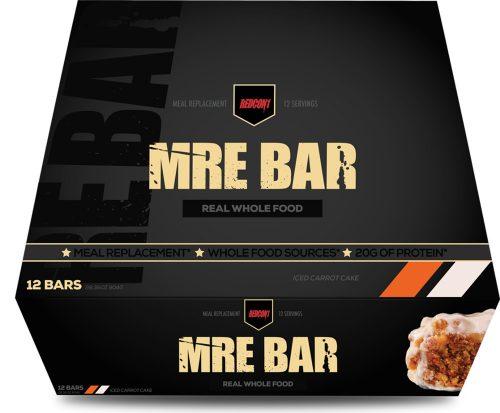 RedCon1 MRE Bar - 12 Bars Iced Carrot Cake