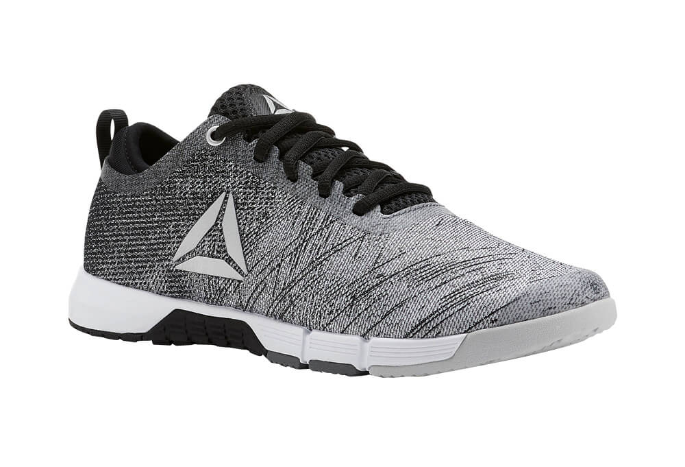 Reebok Speed Her Trainer Shoes - Women's - alloy/black/white/skull grey/silver, 7