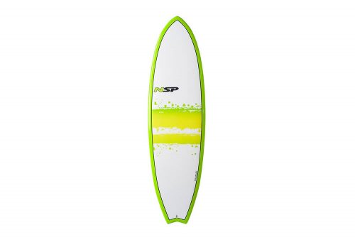Surftech NSP 03 Elements Fish Surf VC 6'4 Surfboard - green, one size