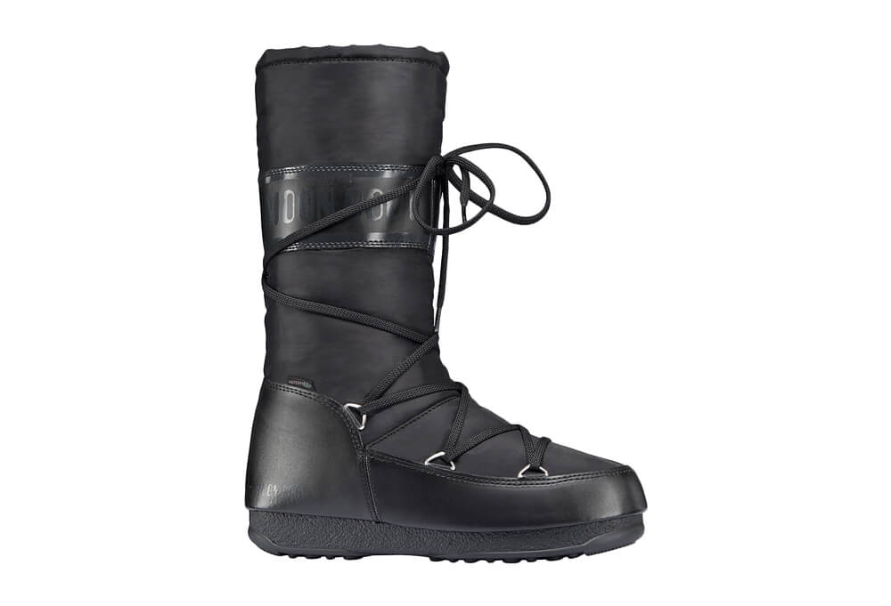 Tecncia Soft Shade WE Moon Boots - Unisex - black, eu 36