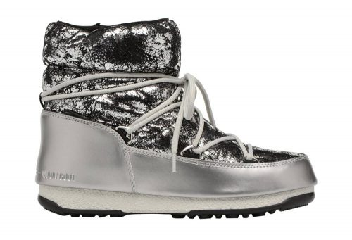 Tecnica Crackled Low Moon Boots - Unisex - silver, eu 38