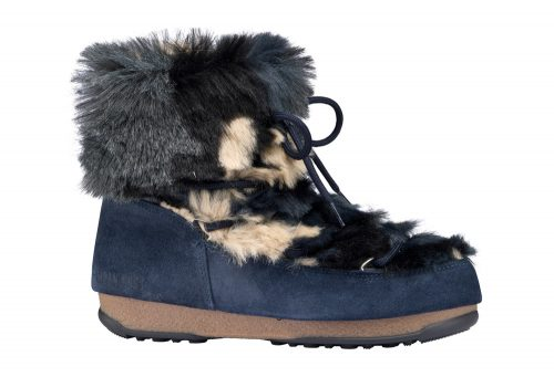 Tecnica Low Fur WE Moon Boots - Women's - blue camu, eu 40
