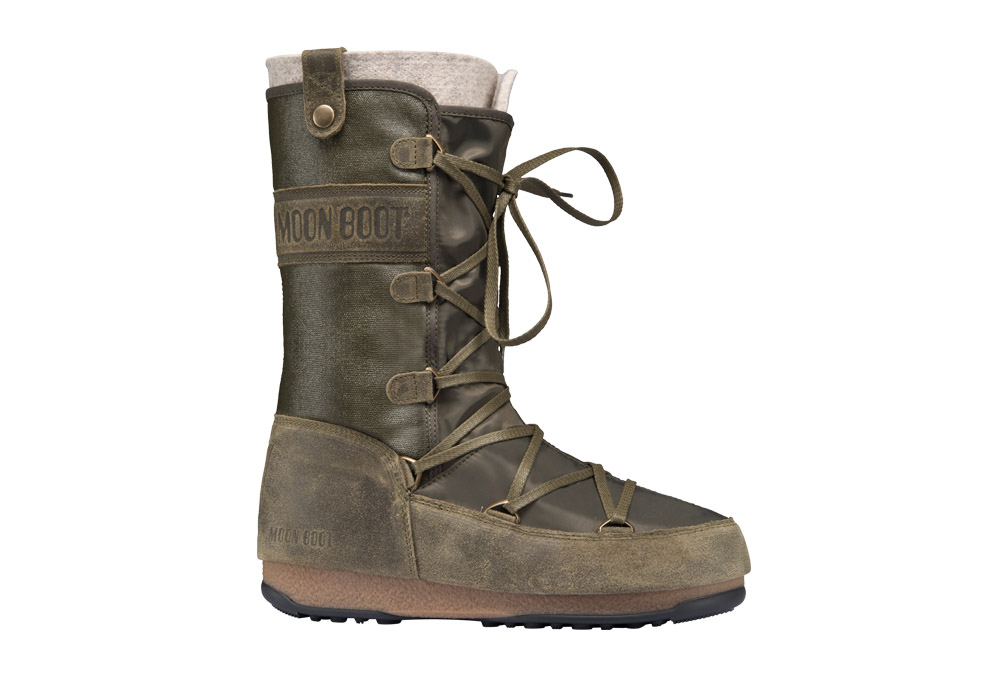 Tecnica Monaco Mix WE Moon Boots - Women's - military, eu 37