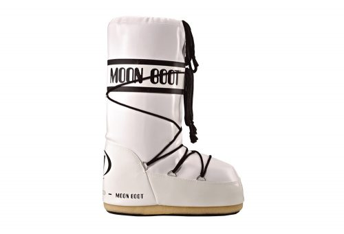 Tecnica Vinyl Moon Boots - Unisex - white/black, 35/38
