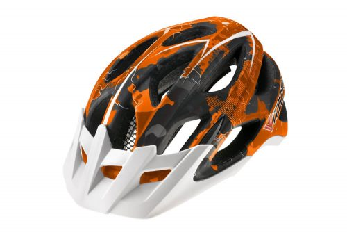 Vittoria DRT Helmet - orange/black camo, s/m