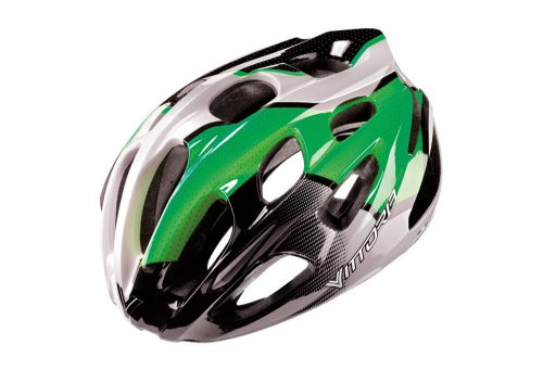 Vittoria V910 Helmet - green/black/white, l