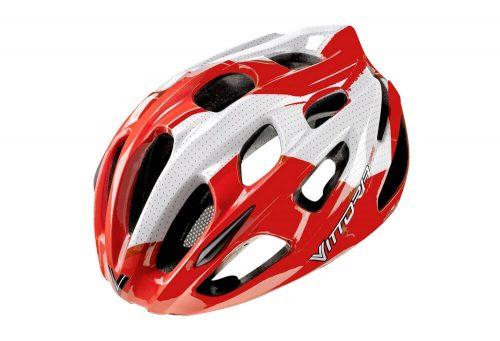 Vittoria V910 Helmet - red/white, l