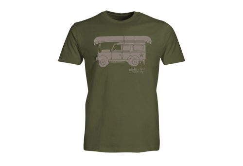 Wilder & Sons Defender - Go Your Own Way Tee - Men's - military green, large