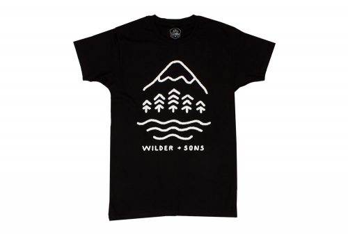 Wilder & Sons Simple Times Tee - Men's - black, small