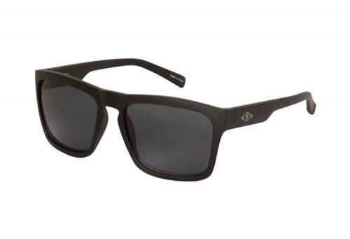 Wilder & Sons Steel Sunglasses - matte black/dark smoke, one size