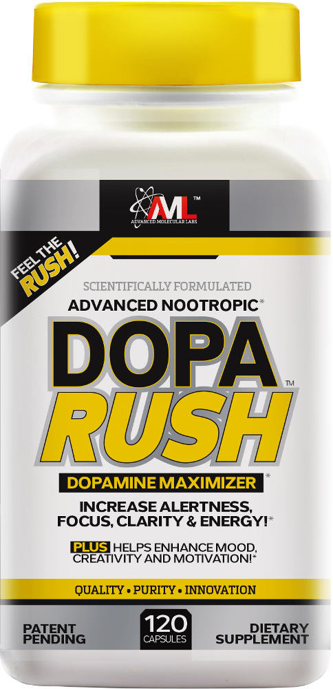 Advanced Molecular Labs Dopa Rush - 120 Capsules