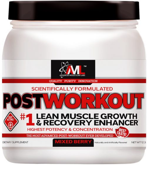 Advanced Molecular Labs Postworkout - 20 Servings Mixed Berry