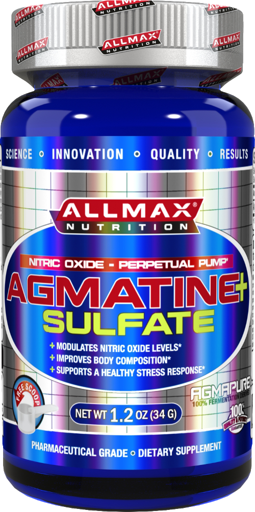 AllMax Nutrition Agmatine Sulfate - 34g