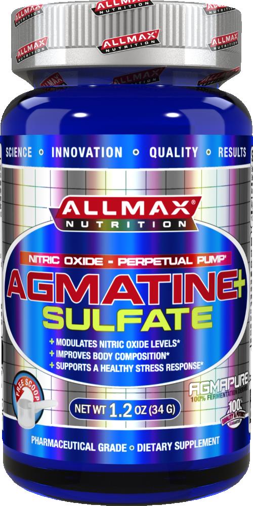 AllMax Nutrition Agmatine Sulfate - 34g