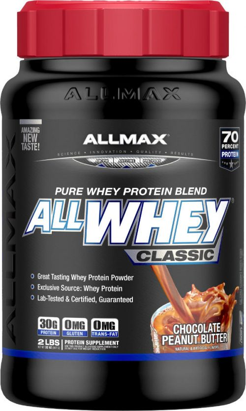 AllMax Nutrition AllWhey Classic - 2lbs Chocolate Peanut Butter