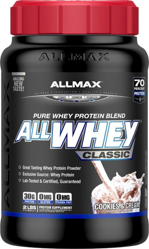 AllMax Nutrition AllWhey Classic - 2lbs Cookies & Cream