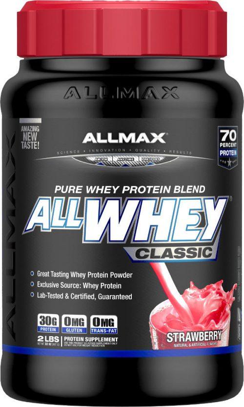 AllMax Nutrition AllWhey Classic - 2lbs Strawberry