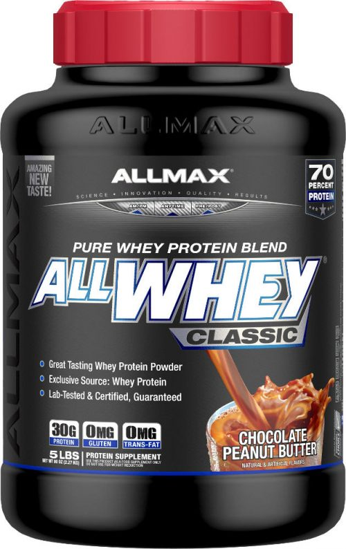 AllMax Nutrition AllWhey Classic - 5lbs Chocolate Peanut Butter