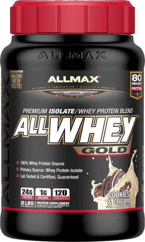 AllMax Nutrition AllWhey Gold - 2lbs Cookies & Cream