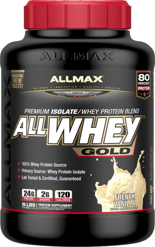 AllMax Nutrition AllWhey Gold - 5lbs Vanilla
