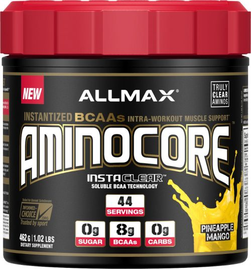 AllMax Nutrition AminoCore - 44 Servings Pineapple Mango