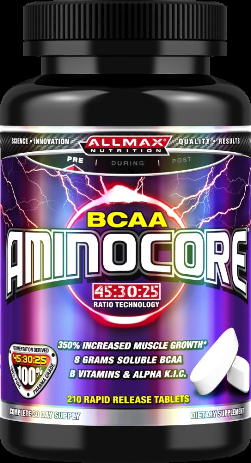 AllMax Nutrition AminoCore Tablets - 210 Tablets