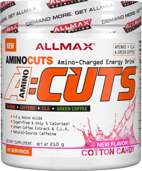AllMax Nutrition AminoCuts - 30 Servings Cotton Candy