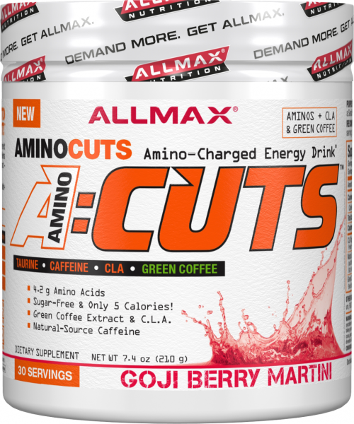 AllMax Nutrition AminoCuts - 30 Servings Goji Berry
