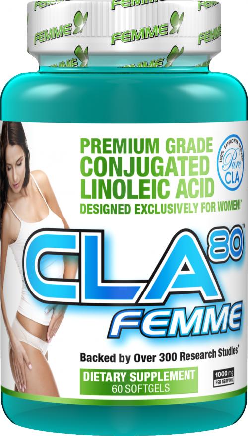 AllMax Nutrition CLA 80 Femme - 60 Softgels