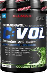 AllMax Nutrition C:VOL - 10 Servings Raspberry Kiwi