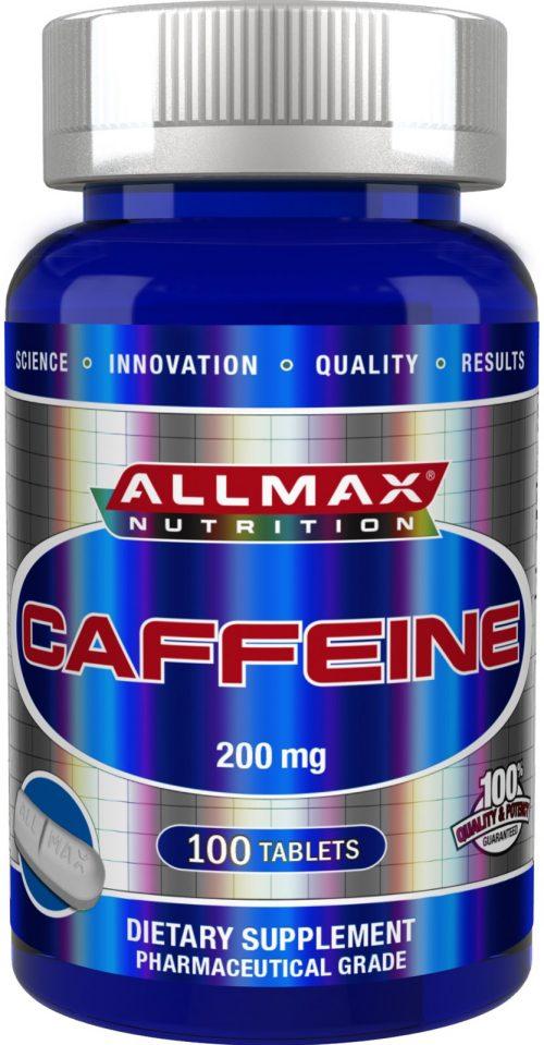 AllMax Nutrition Caffeine - 100 Tablets
