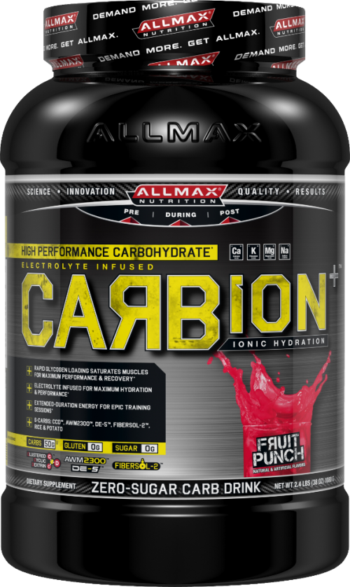 AllMax Nutrition Carbion+ - 2.4lbs Fruit Punch