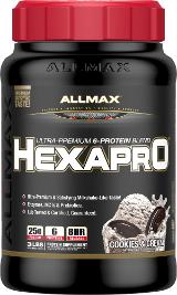 AllMax Nutrition HexaPro - 3lbs Cookies & Cream
