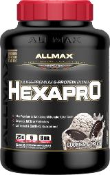 AllMax Nutrition HexaPro - 5.5lbs Cookies & Cream