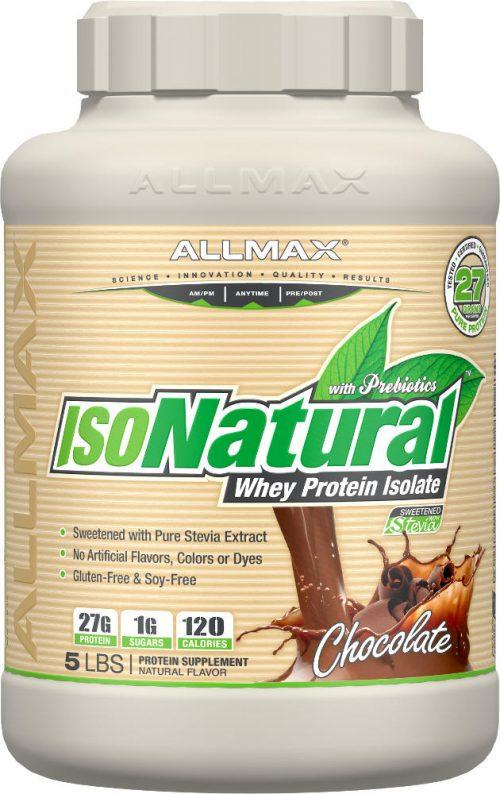 AllMax Nutrition IsoNatural - 5lbs Chocolate