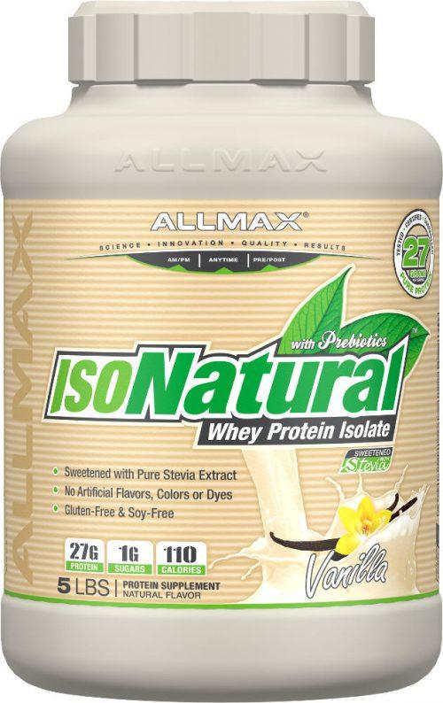 AllMax Nutrition IsoNatural - 5lbs Vanilla