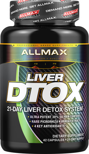 AllMax Nutrition Liver D-Tox - 42 Capsules